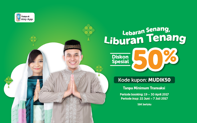 Promo Lebaran Airy Rooms