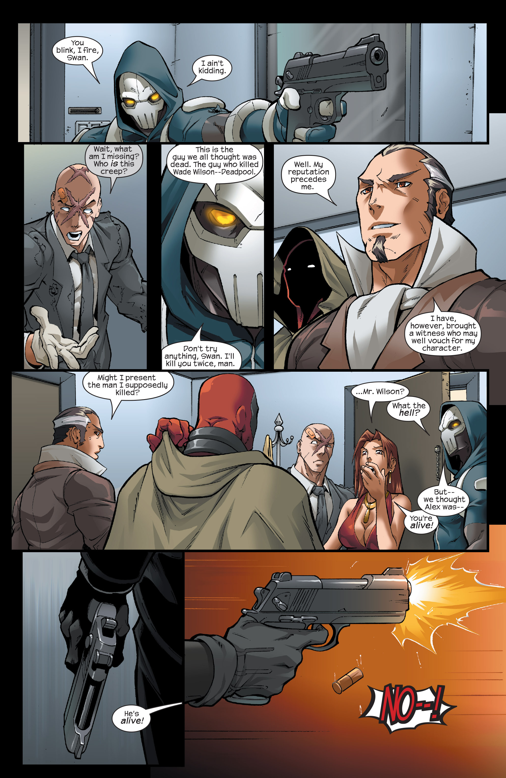 Read online Agent X comic -  Issue #13 - 22