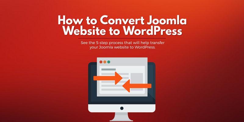 How To Convert Joomla Website To WordPress