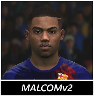 PES 2017 Faces Malcom by BenHussam