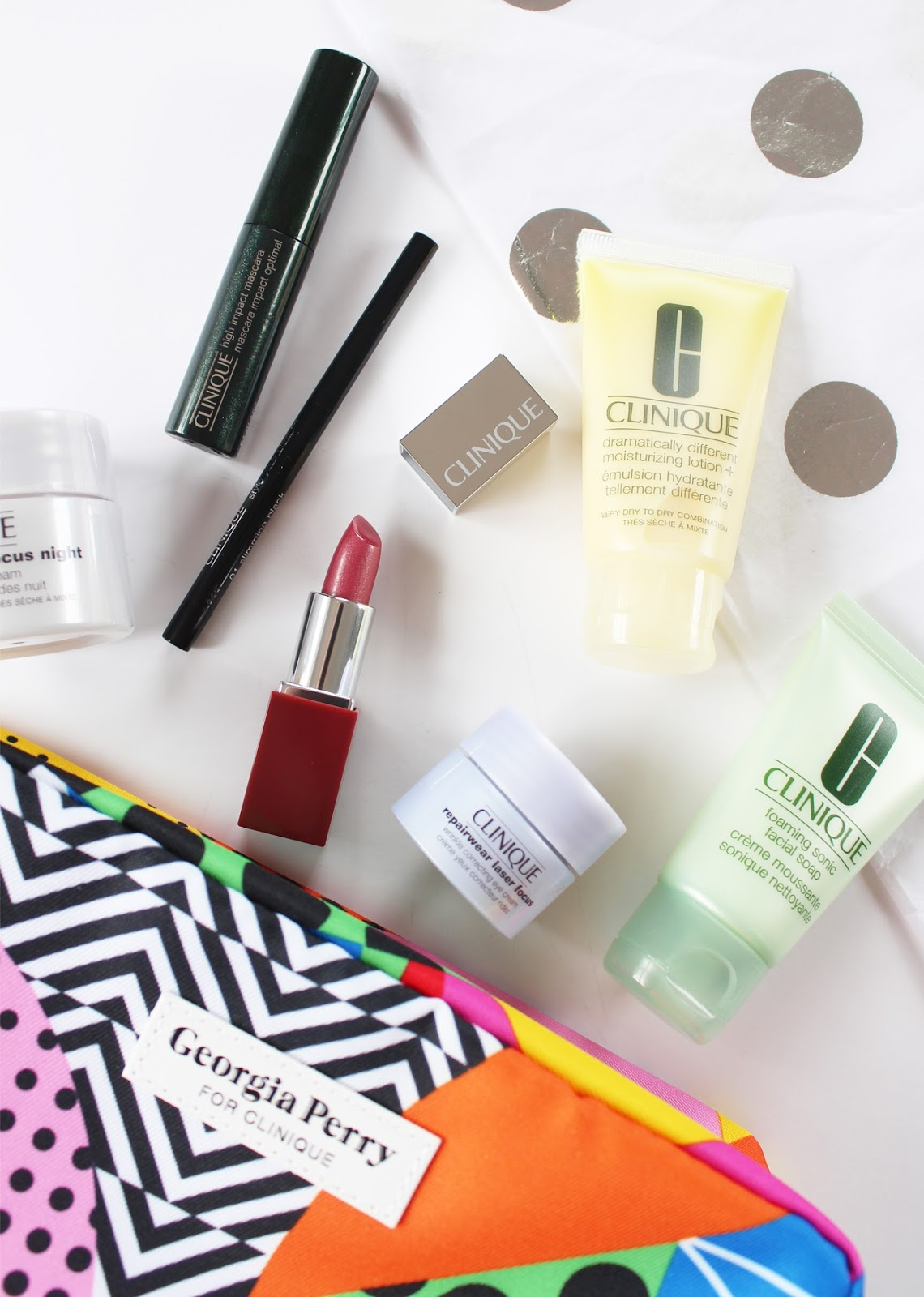 CLINIQUE X GEORGIA PERRY | Gift With Purchase May '16 - CassandraMyee