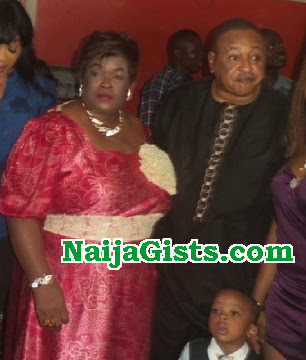 jide kosoko attend party day wife died