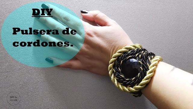 Diy pulsera de cordones para fin de año