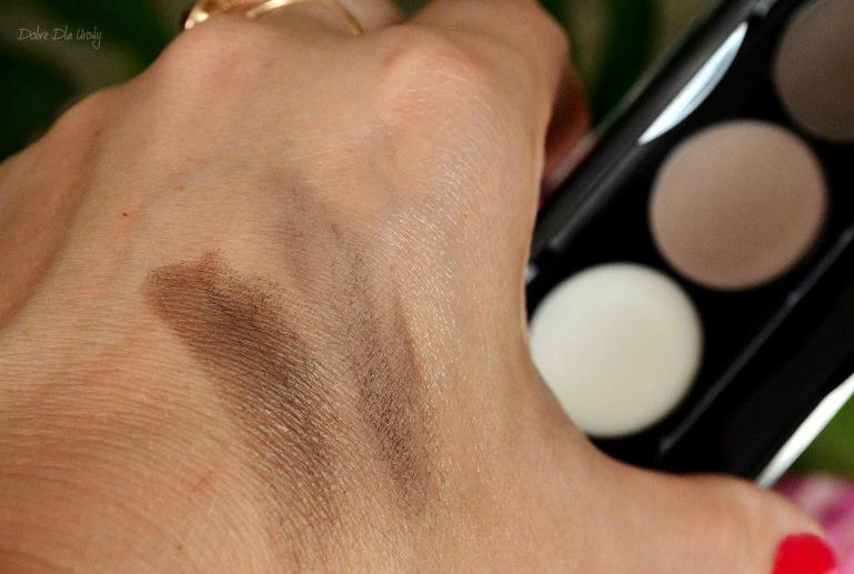 Paletka do stylizacji brwi Eyebrow Expert Delia Cosmetics