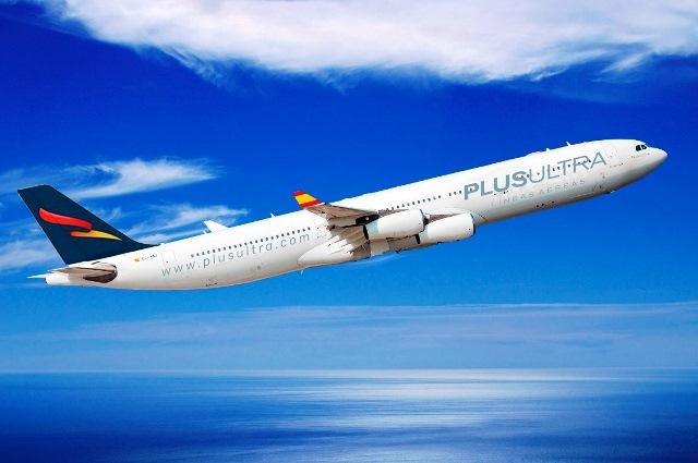 Plus Ultra Líneas Aéreas celebra su tercer aniversario lanzando un descuento del 50% en sus vuelos
