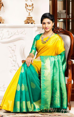 Color combinations plays important role in Pattu Sarees.
