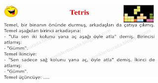 Tetris - Temel Fıkraları - Komikler Burada