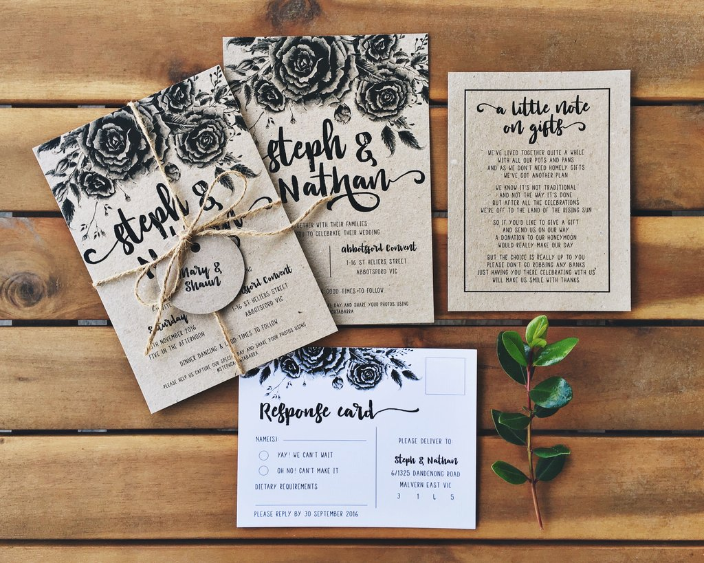 WEDDING INVITATIONS WHAT TO INCLUDE To the Aisle Australia