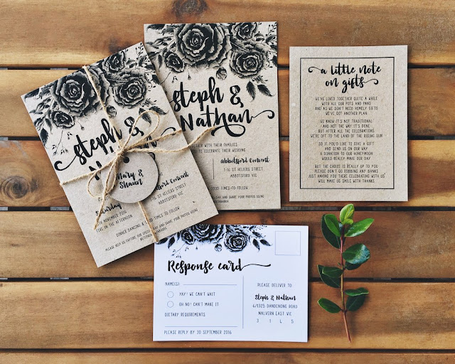 WEDDING STATIONERY INVITATIONS SAVE THE DATES RSVPS