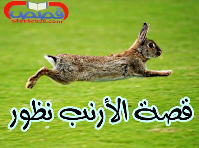 قصص قصيرة للأطفال | قصة الأرنب نظور