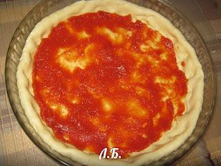 формируем открытый пирог