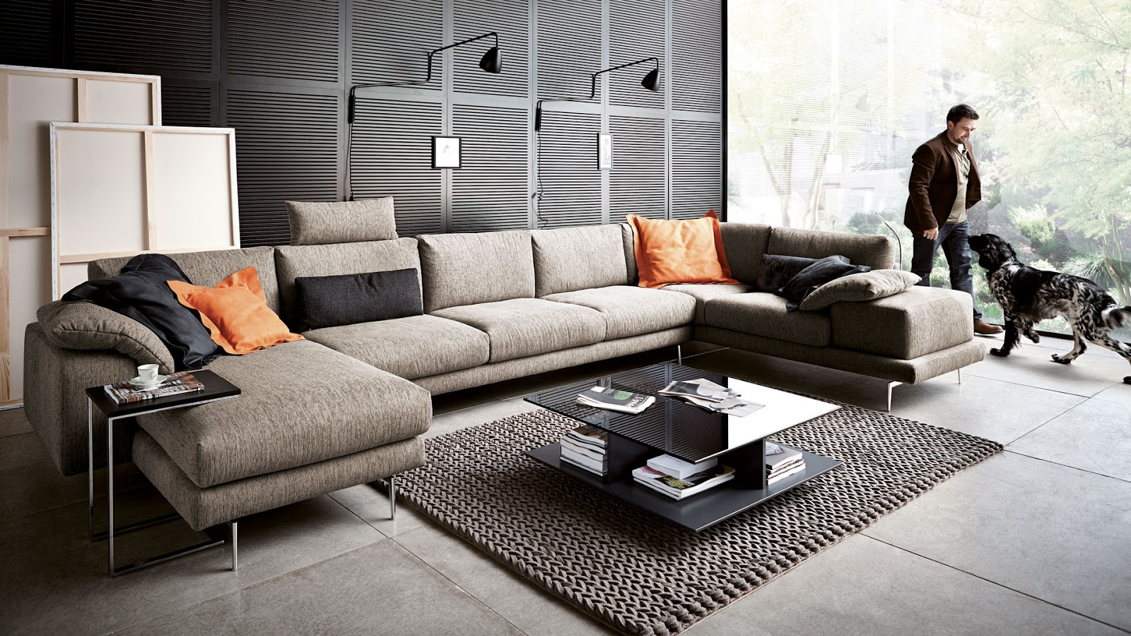 Couch Mit Relaxfunktion Koinor | Top Living - Design Meubelen | Lanaken