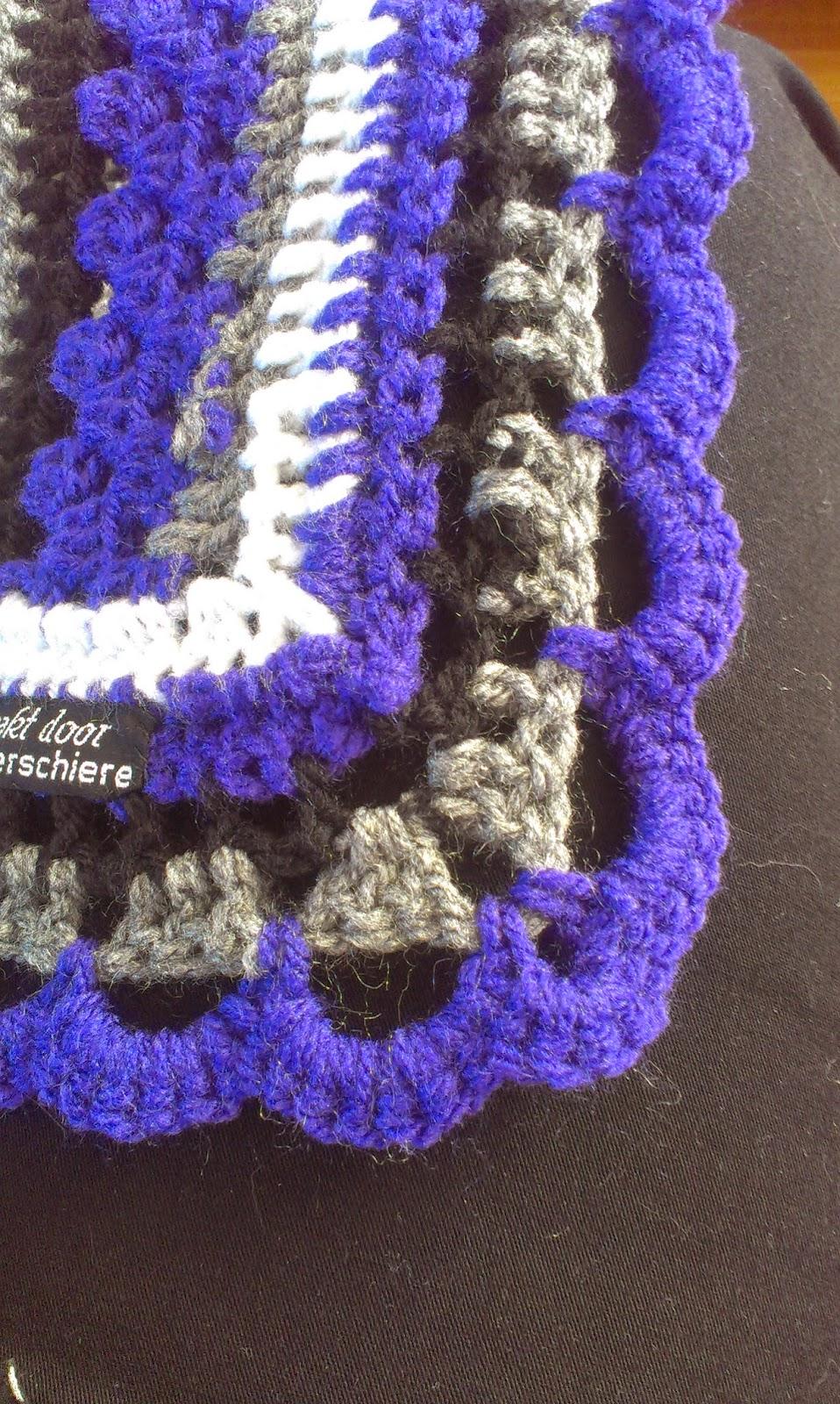 Knutsels Van Jolanda Crochet Along Rand 3 En Dat Was Het Dan