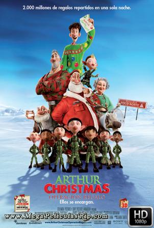 Arthur Christmas Operacion Regalo [1080p] [Latino-Ingles] [MEGA]