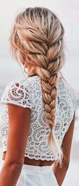 9 Easy Braided Hairstyles For Spring 2017