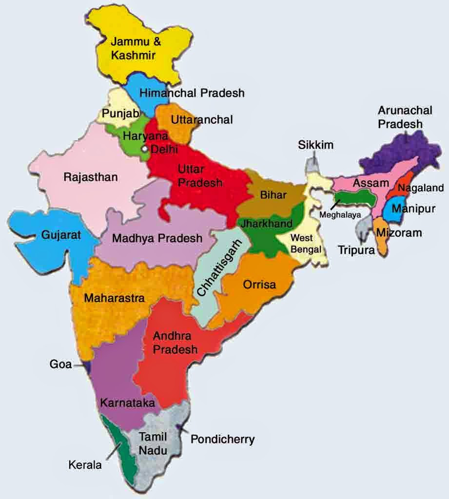 List of States in India