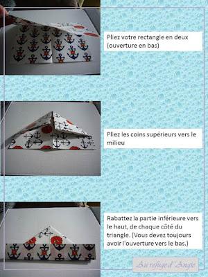 tutoriel bateau en papier origami