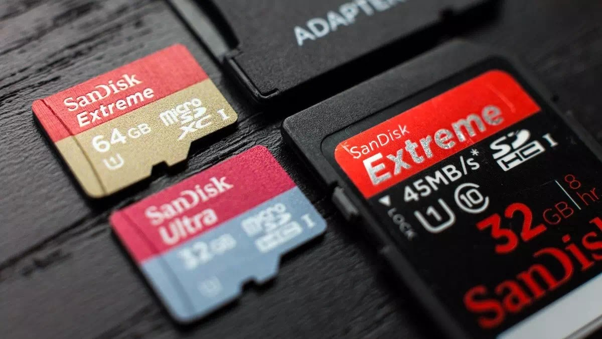SD Card Ilustrasi