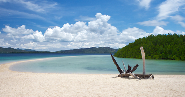 Honda Bay, Palawan in the Philippines