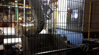 CNC besleme robotu tara robotik otomasyon