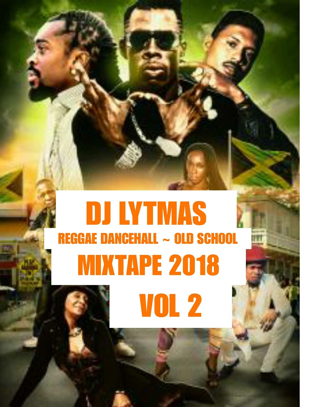 DJ LYTMAS - OLD SCHOOL REGGAE DANCEHALL MIX VOL 2 - DJ LYTMAS