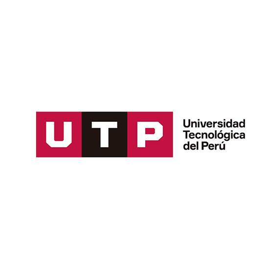 Logo Universidad Tecnológica del Perú - Auspiciador III Congreso Internacional de la Industria Plástica, Lima, Perú, abril 2020