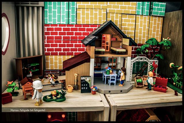 maison fermier playmobil