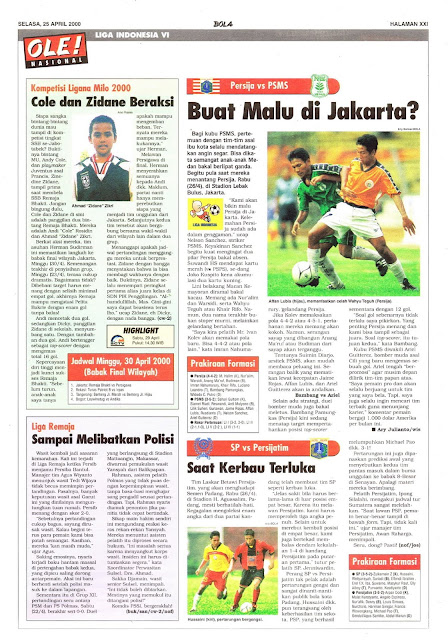 LIGA INDONESIA VI PERSIJA VS PSMS