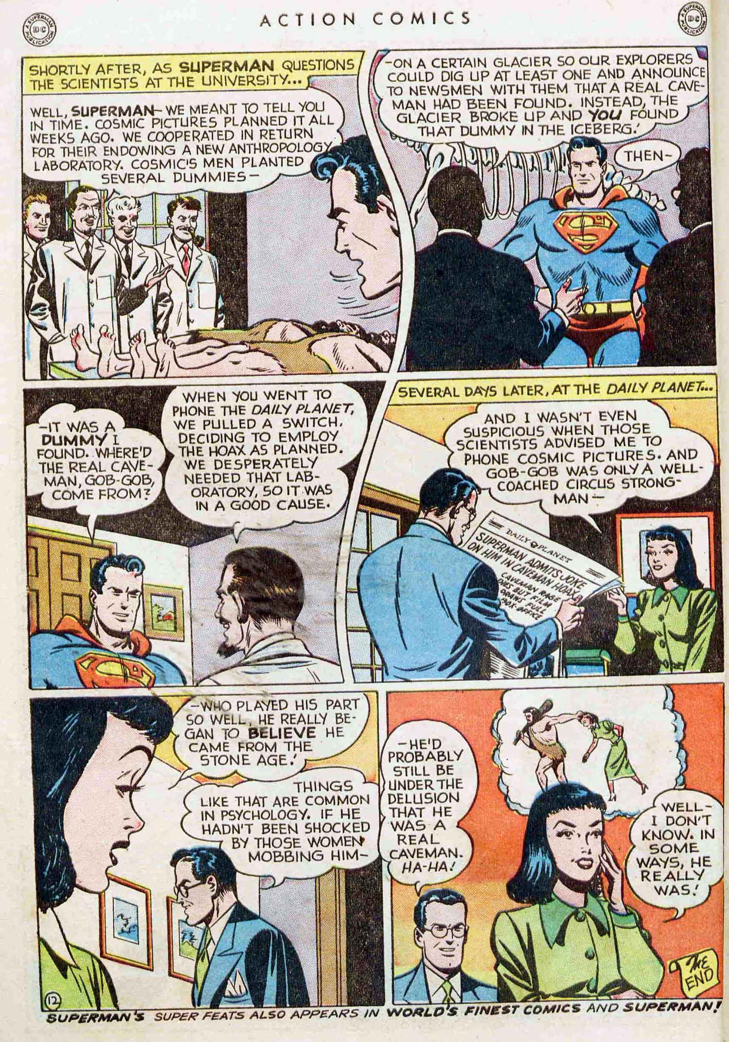 Read online Action Comics (1938) comic -  Issue #129 - 13