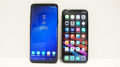 Bài test hiệu năng của Galaxy S9+ và iPhone X - 222862