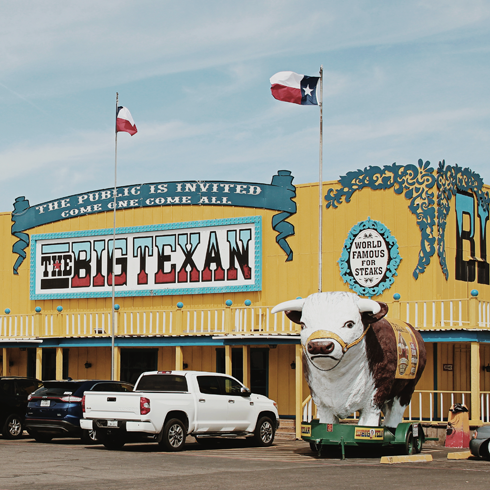 Big Texan Steak Ranch Amarillo Texas