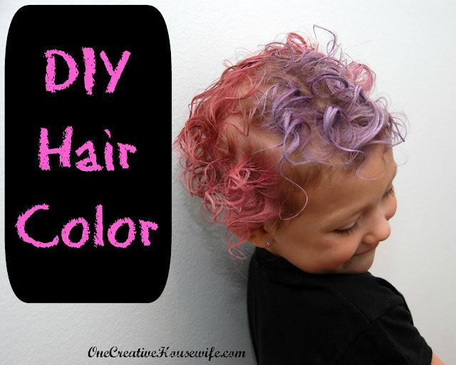 One Creative Housewife Diy Hair Color
