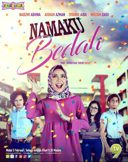 Drama Namaku Bedah lakonan Aishah Azman dan Nadzmi Adhwa