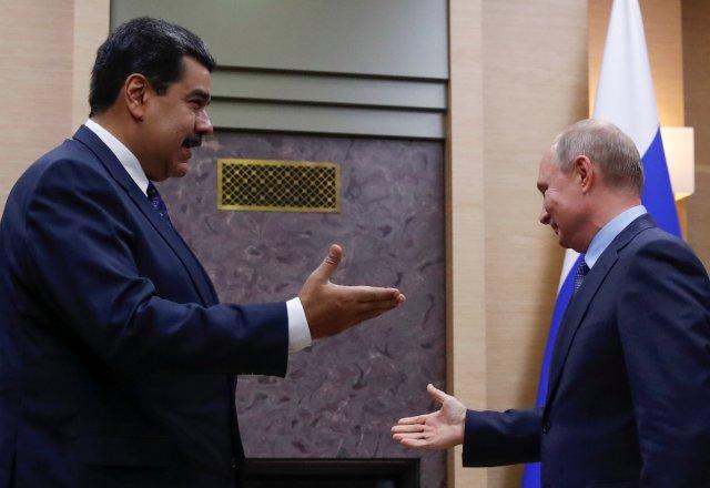The Economist: En Venezuela, Vladimir Putin lucha por su propio futuro