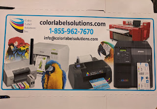 Inkjet Coated Box Printed by the NS Multi