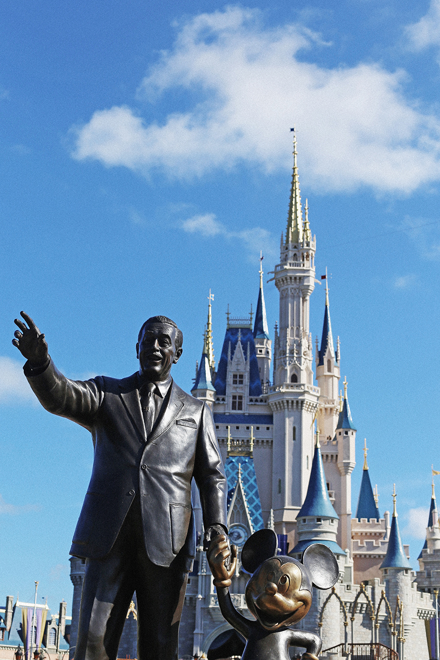 Walt Disney World in Orlando, Florida.