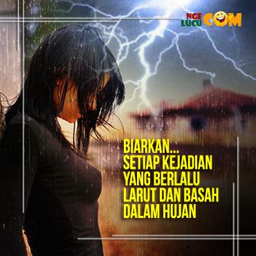 Gambar DP BBM Kata Kata Bijak Saat Hujan