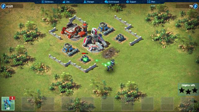 Battle for the Galaxy - Image du Jeu