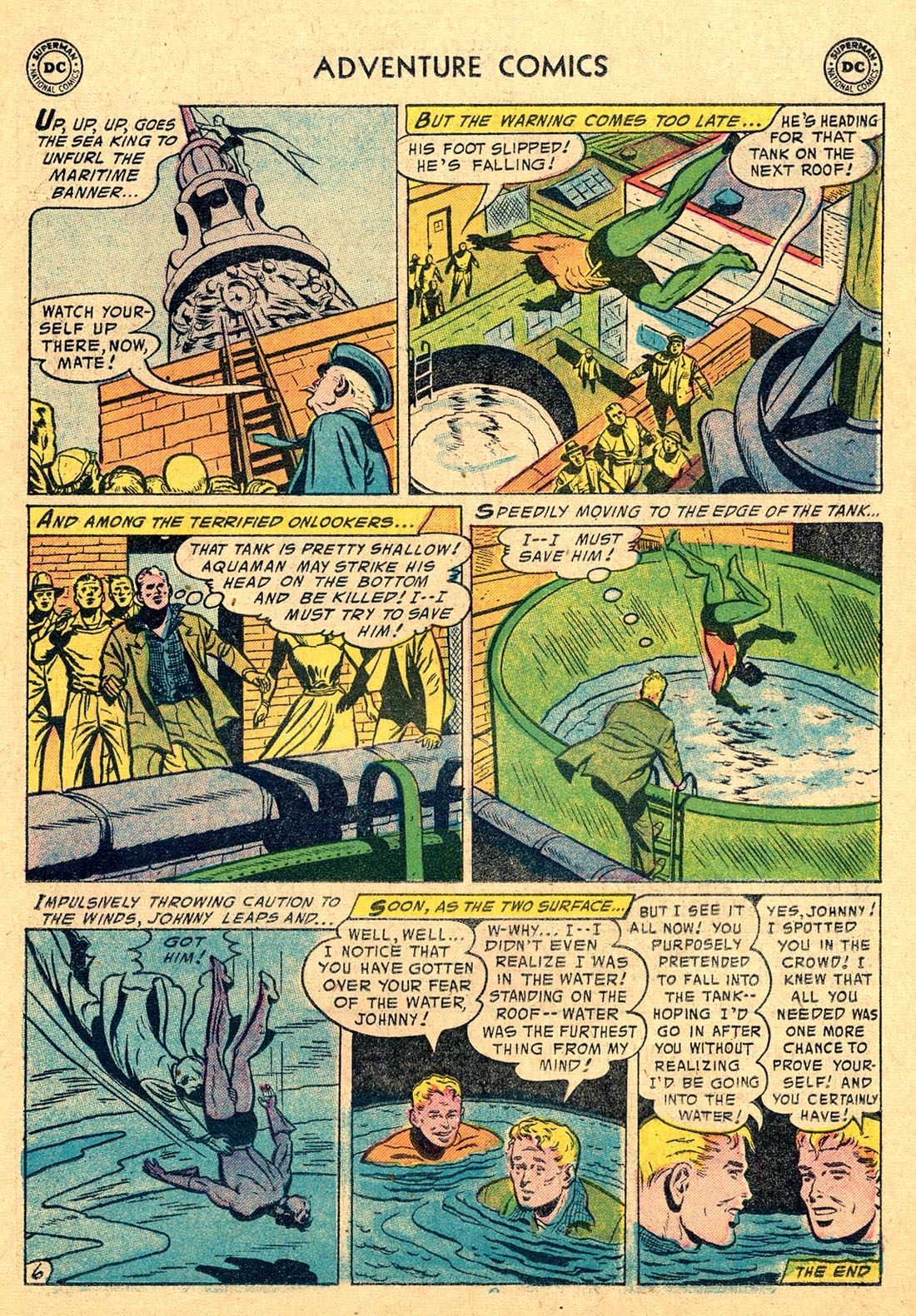 Read online Adventure Comics (1938) comic -  Issue #220 - 23