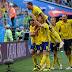 Suécia elimina a Suíça e volta às quartas da Copa depois de 24 anos