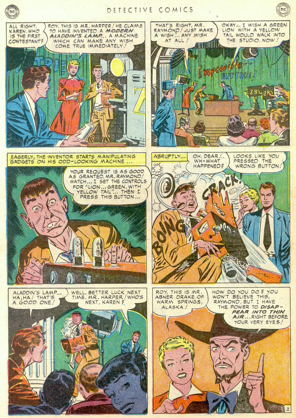 Read online Detective Comics (1937) comic -  Issue #163 - 17