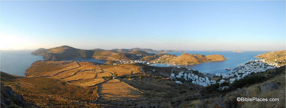 BiblePlaces Blog: Picture of the Week: Patmos, View of ...