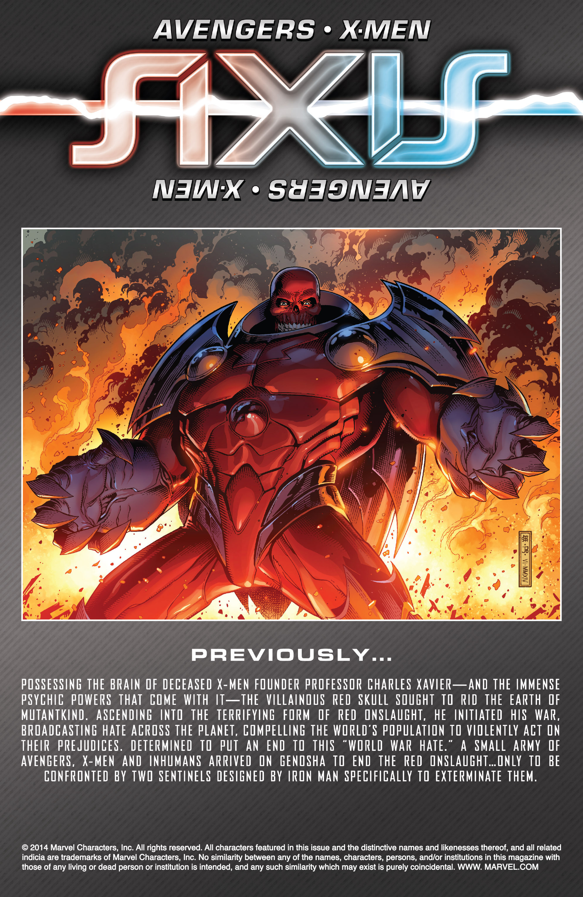 Read online Avengers & X-Men: AXIS comic -  Issue #2 - 2
