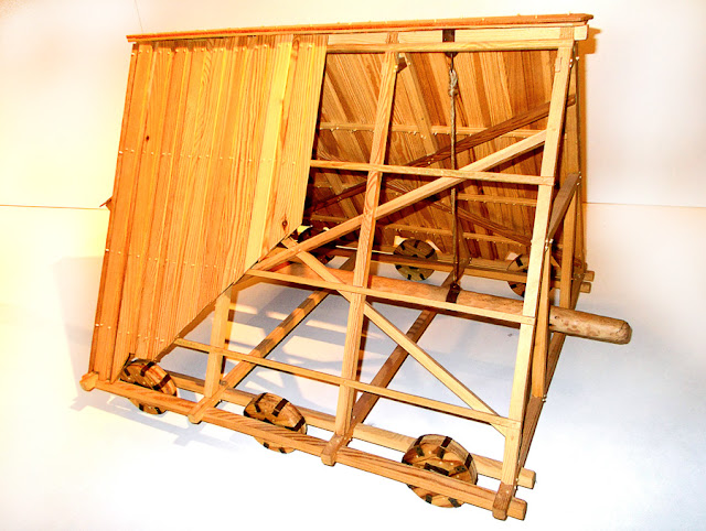 Model machine siege