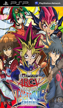 ROMs - Yu-Gi-Oh! ARC-V Tag Force Special (Português) - PSP Download