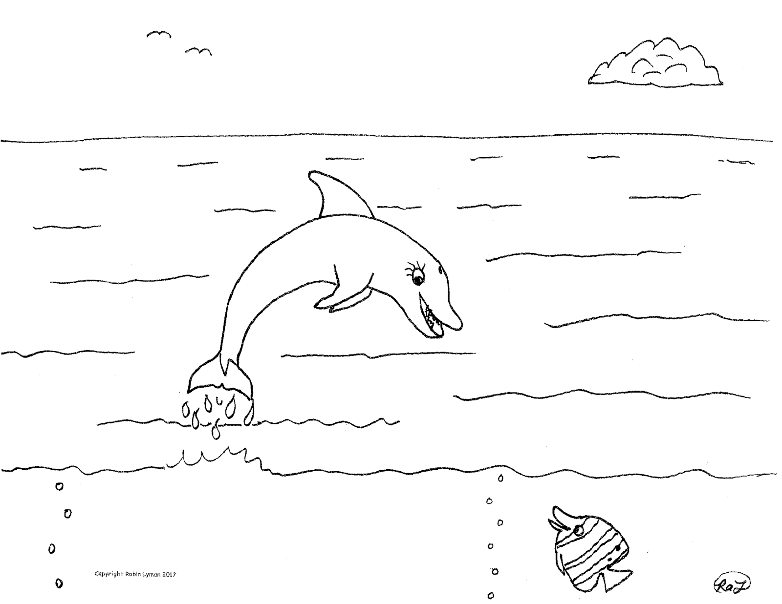 Robin S Great Coloring Pages February