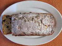 Κέικ με αχλάδι και σοκολάτα κουβερτούρα - by https://syntages-faghtwn.blogspot.gr