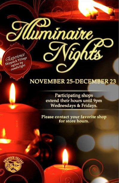 Green Wolfs Village Barn Shoppes in Skippack: Skippack 2011 Holiday Events: Illuminaire Nights
