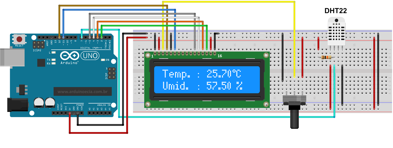 DIY wattmeter with an Arduino - Meettechniekinfo
