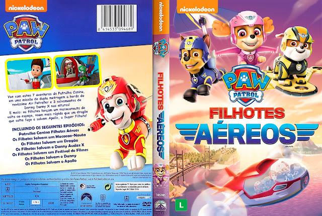 Capa DVD Paw Patrol: Filhotes Aéreos [Custom]
